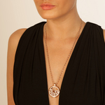 Hot Diamonds Emozioni Rose Gold Plated Reflesi Keeper 33mm