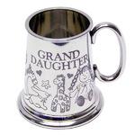 Grandaughter Pewter Baby Mug