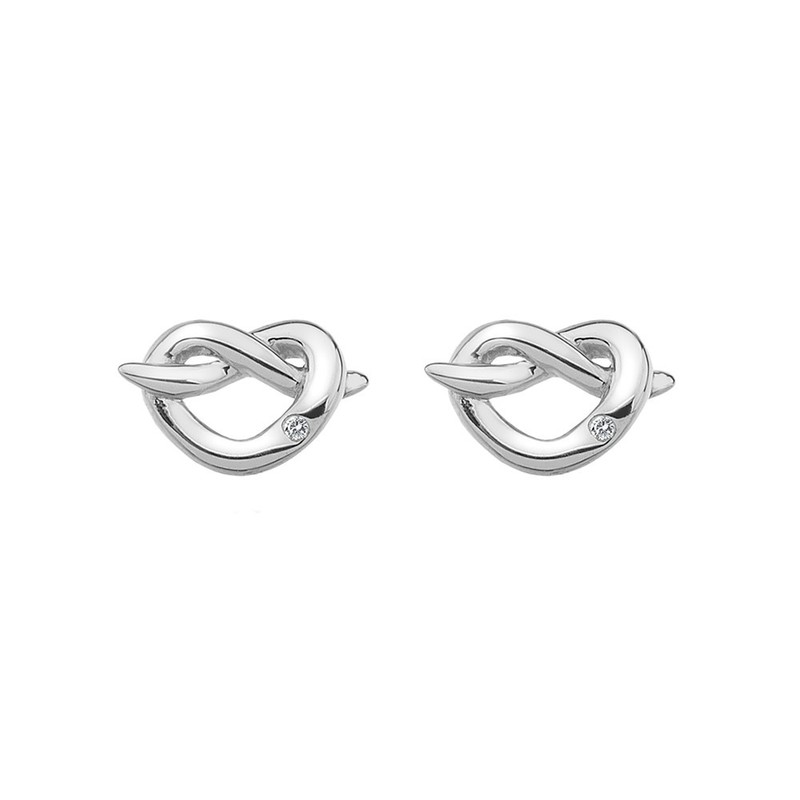 Hot Diamonds Infinity Heart silver earrings