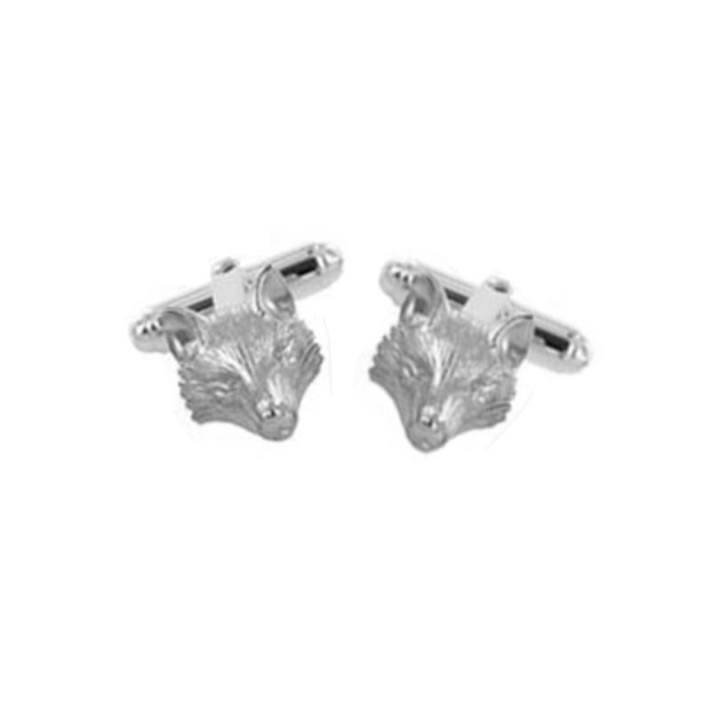Silver Fox Cufflinks