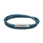 Unique & Co Metallic Blue Bracelet