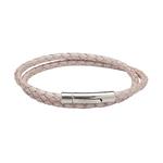 Unique & Co Ladies Pink Leather Bracelet
