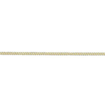 """9ct Yellow Gold 12 Filed Curb Chain 18"""""""