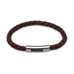 Unique & Co Leather Bracelet - Antique Tan