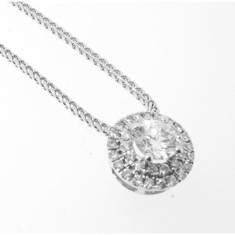 Georgia's Inspiration 18ct White Gold Constellation Diamond Pendant