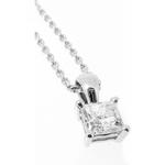Georgia's Inspiration 18ct White Gold Diamond Pendant